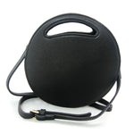 Circular Cat Ears Bag in Vinyl Material back view