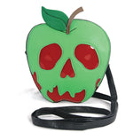 Sleepyville Critters - Poisoned Apple Crossbody Bag in Vinyl Material front view