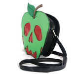Sleepyville Critters - Poisoned Apple Crossbody Bag in Vinyl Material side view