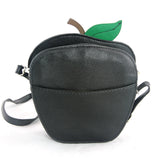 Sleepyville Critters - Poisoned Apple Crossbody Bag in Vinyl Material back view