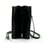 Book of Wealth Book Clutch Cross Body Bag in Vinyl Material interior view