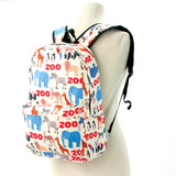 Zoo Animal Backpack in Polyester side view