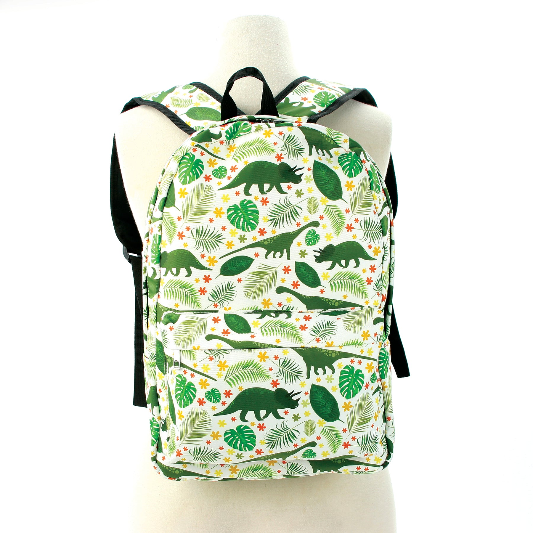 Dino Backpack in Polyester front view