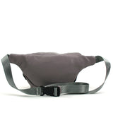 grey pug fanny pack back view