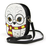 Sleepyville Critters - Snow Owl Crossbody Bag in Vinyl side view