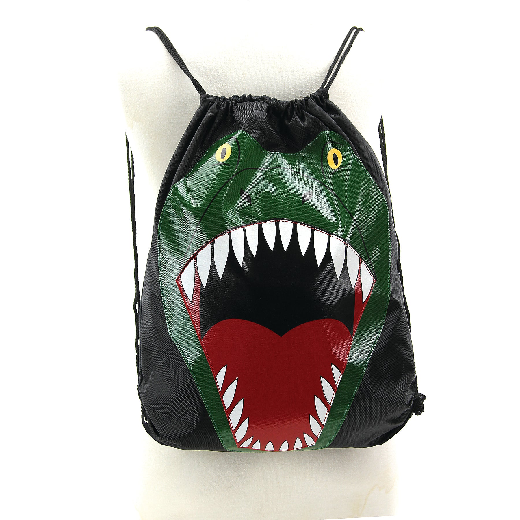 Dinosaur Sling Bag in Nylon front view