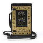 The Witches Companion Book Bag in Vinyl back view