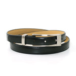 "Fashion Leatherette Belt In 3/4"" Width front view"