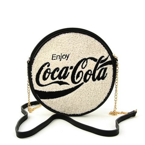 coca cola round bag front view (Enjoy Coca-Cola)