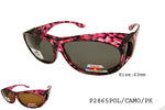 P2865POLO/CAMO Fit Over Sunglasses, front view
