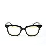 Blue Light Blocking Glasses, black color, front view