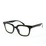 Blue Light Blocking Glasses, black color, side view