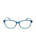 Blue Light Blocking Glasses, blue color, front view