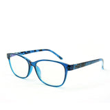 Blue Light Blocking Glasses, blue color, side view