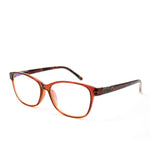 Blue Light Blocking Glasses, brown color, side viwew
