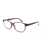 Blue Light Blocking Glasses, purple color, side view