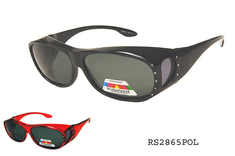 RS2865POL Fit Over Sunglasses, front view