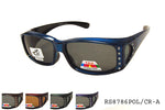RS8786POL/CR-A Fit Over Sunglasses, front view