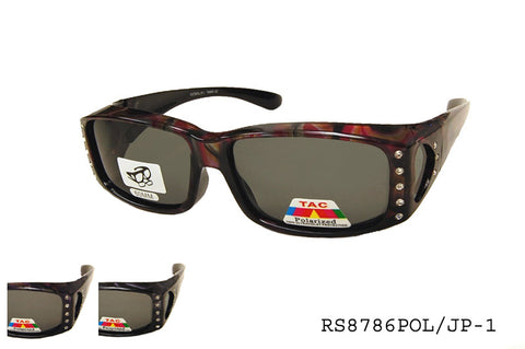 RS8786POL/JP-1 Fit Over Sunglasses, front view