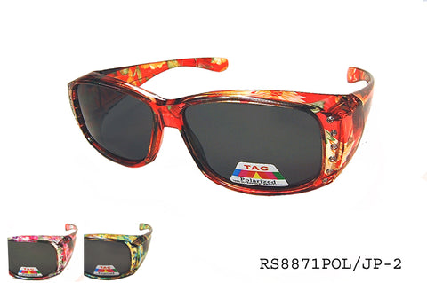 RS8871POL/JP-2 Fit Over Sunglasses, front view