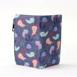 axolotl wallet, colorful wallet, multicolored axolotl wallet