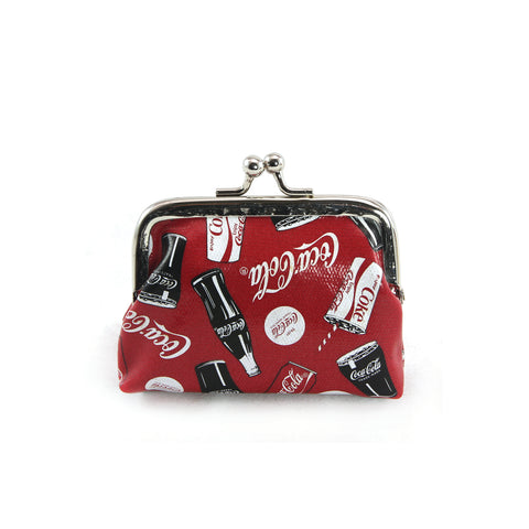 coca cola coin purse front view