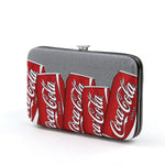 coca cola flat wallet side view