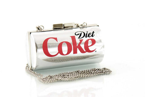 Diet Coca Cola can small cross body bag front view
