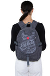 Officially Licensed Coca-Cola Classic Nylon Backpack, backpack style on model
