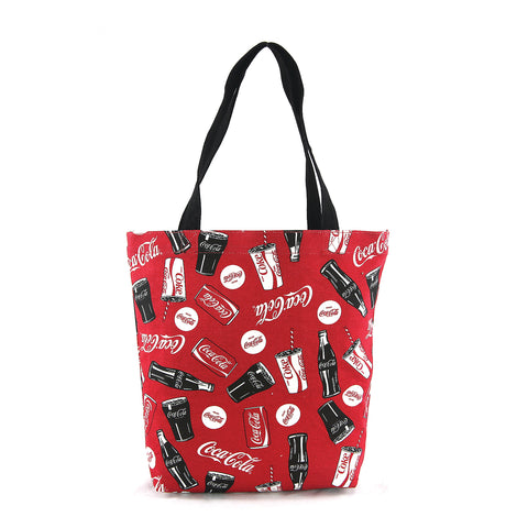 Coca-cola tote bag frontal view