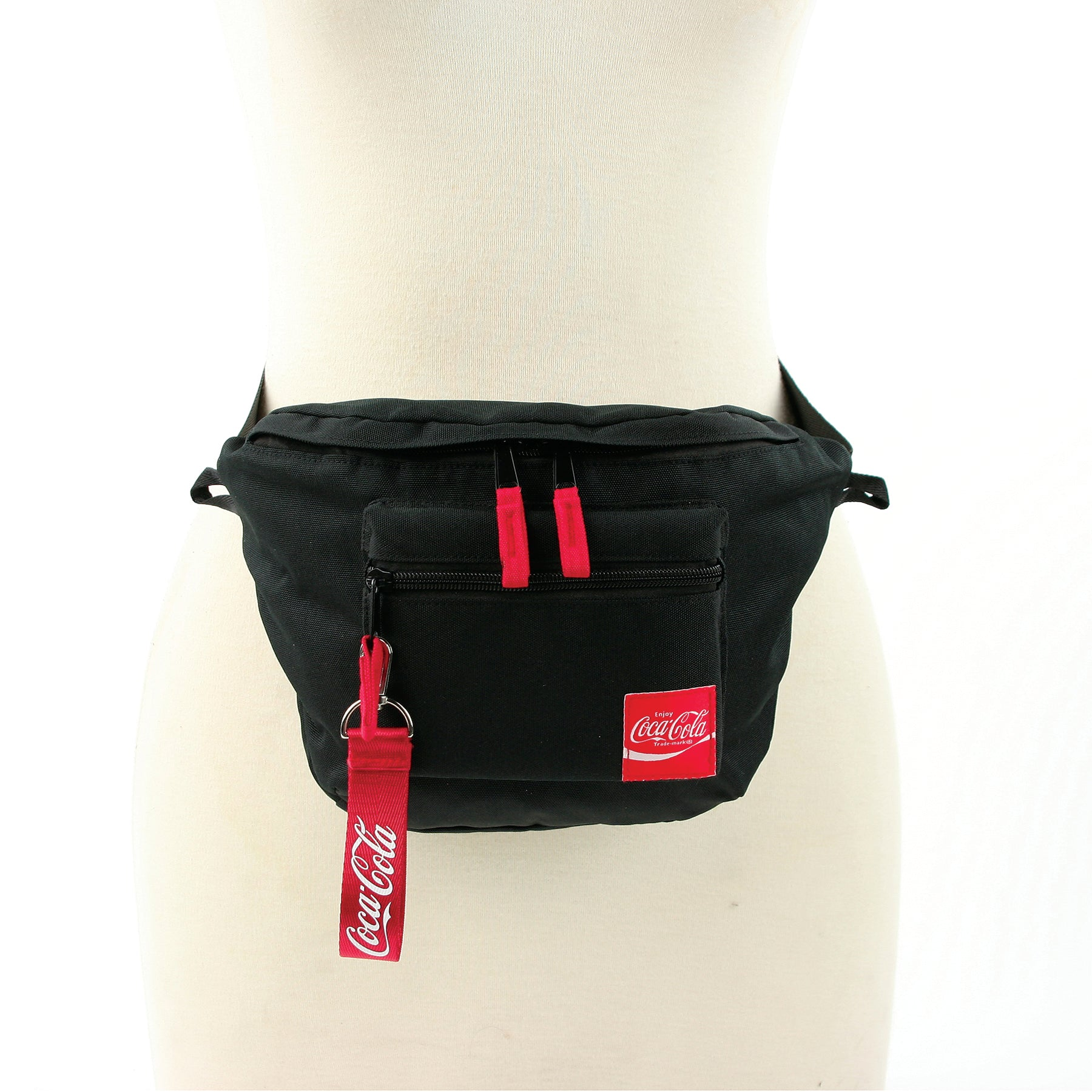 Coca-cola fanny pack frontal view