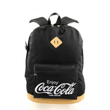 Enjoy Coca-Cola canvas backpack front view