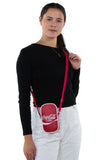 Officially Licensed Coca-Cola Hero Cross Body Bag, crossbody style on model
