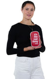Officially Licensed Coca-Cola Hero Cross Body Bag, back view, handheld by model