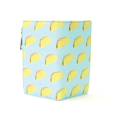 Taco Wallet in Vinyl Material front view