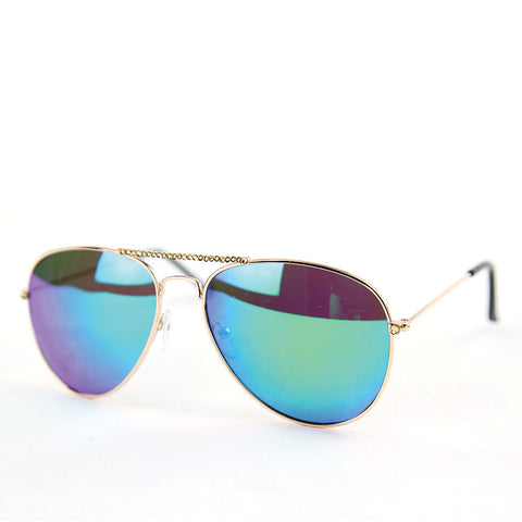 Sunglasses Made with Swarovski Elements, multi color, front view
