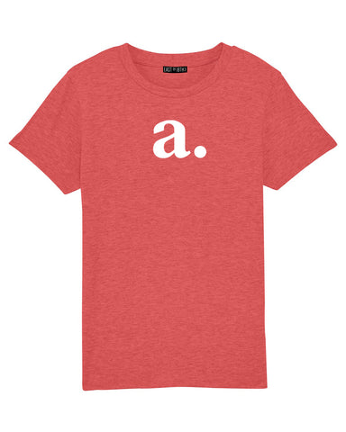 Bold Initial | Kids T-Shirt - Personalised Clothing | EAST ON 18th