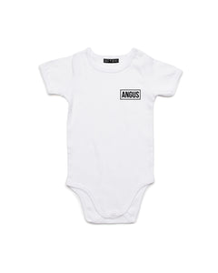 Skate Name | Baby Bodysuit - Personalised Clothing | EAST ON 18th