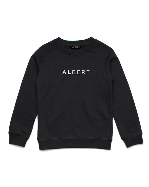 Classic Name | Crew Neck Jumper - Personalised Clothing | EAST ON 18th