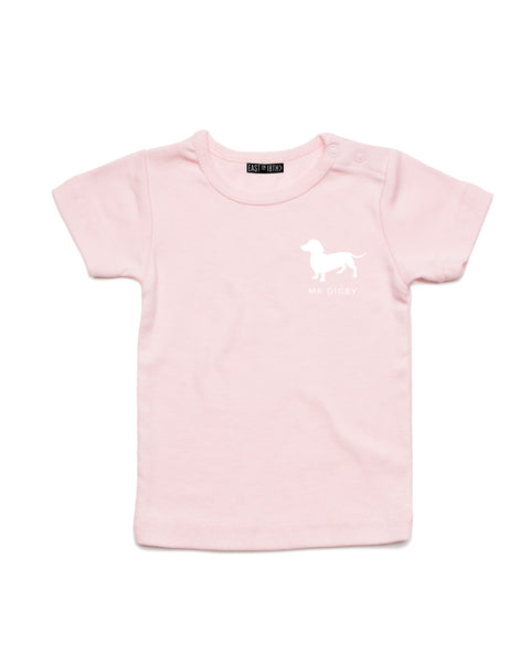 Mr Digby Logo | Baby T-Shirt - Personalised Clothing | EAST ON 18th