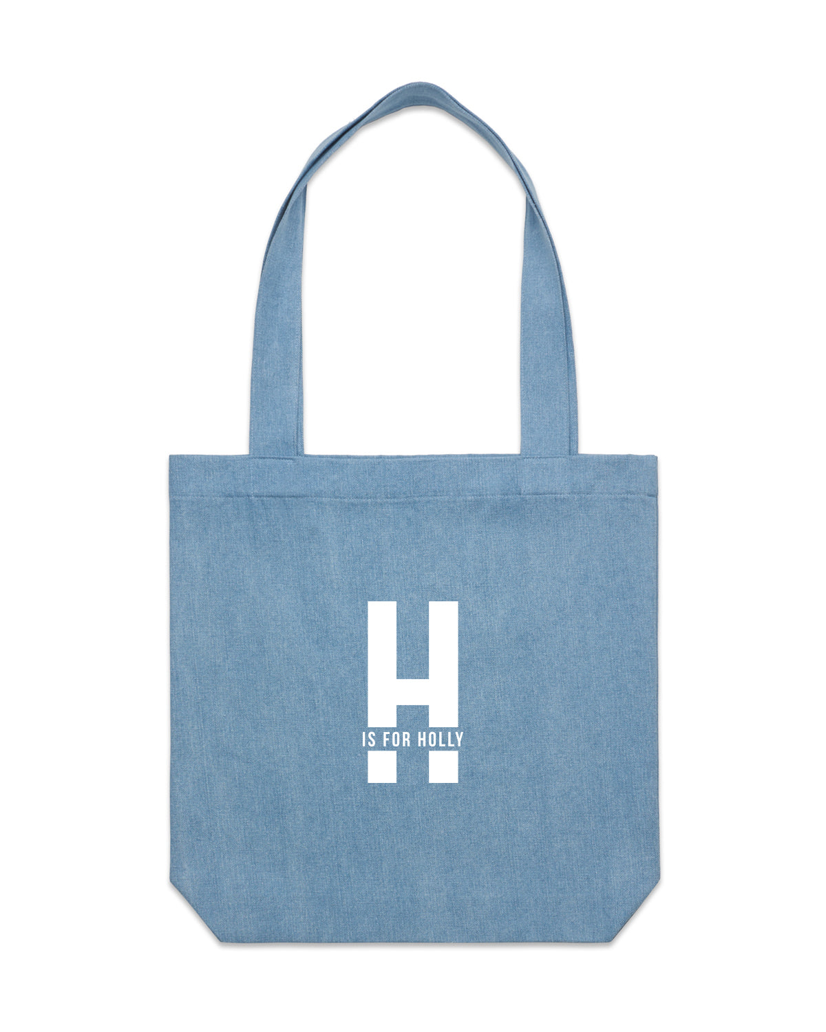 Is For Name | Denim Tote - Personalised Clothing | EAST ON 18th