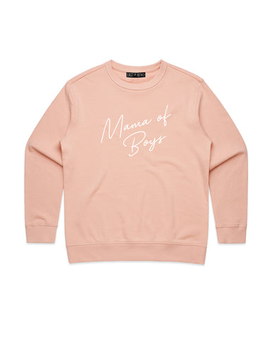 PRE ORDER Mum of Boys | Adult Crew Neck Jumper - Personalised Clothing | EAST ON 18th