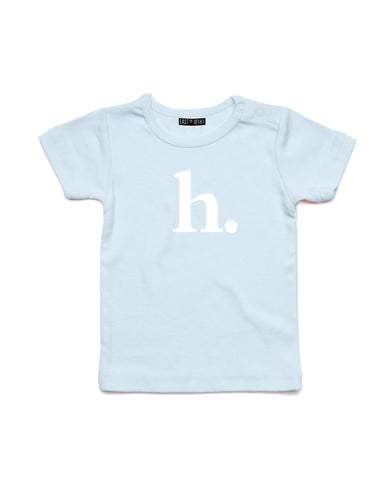 Bold Initial | Baby T-Shirt - Personalised Clothing | EAST ON 18th