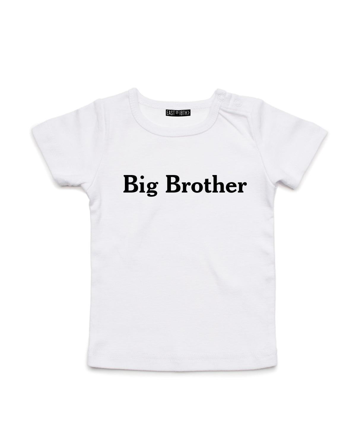 Brother | Baby T-Shirt - Personalised Clothing | EAST ON 18th