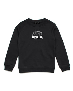Little Traveller | Crew Neck Jumper - Personalised Clothing | EAST ON 18th