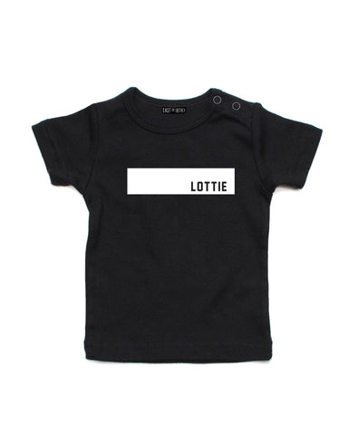 Block Name | Baby T-Shirt - Personalised Clothing | EAST ON 18th