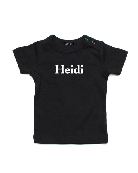 Cheltenham Name | Baby T-Shirt - Personalised Clothing | EAST ON 18th
