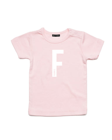 Inset Name | Baby T-Shirt - Personalised Clothing | EAST ON 18th