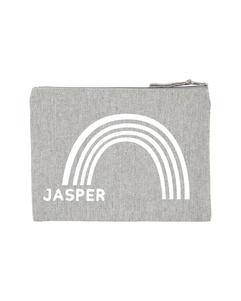 Rainbow Name | Pencil Case - Personalised Clothing | EAST ON 18th