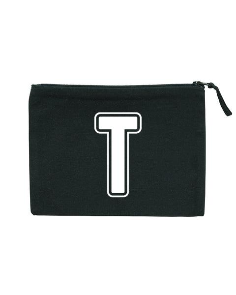 Varsity Initial | Pencil Case - Personalised Clothing | EAST ON 18th